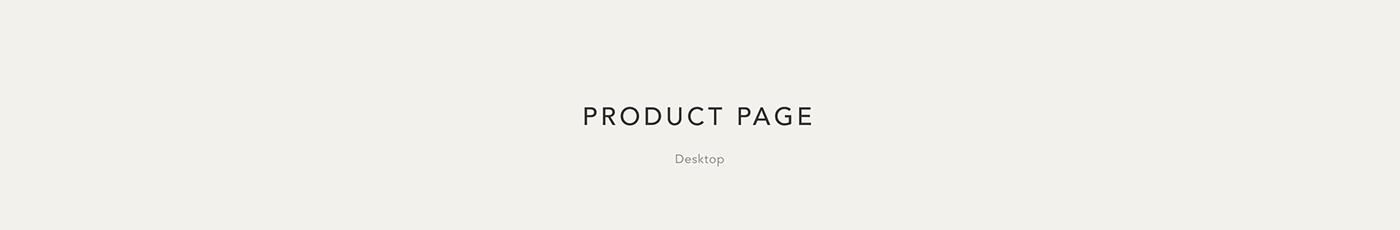 E COMMERCE Fashion  mobile Online shop redesign shop UI ux Web store