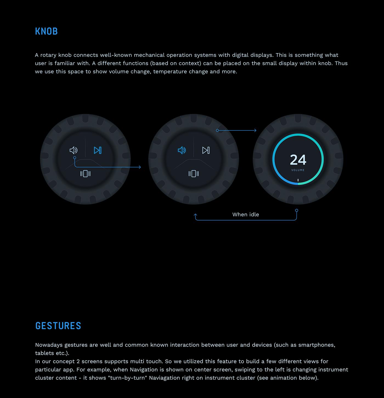 instrument cluster  siili auto Automotive design UI ux automotive   siili
