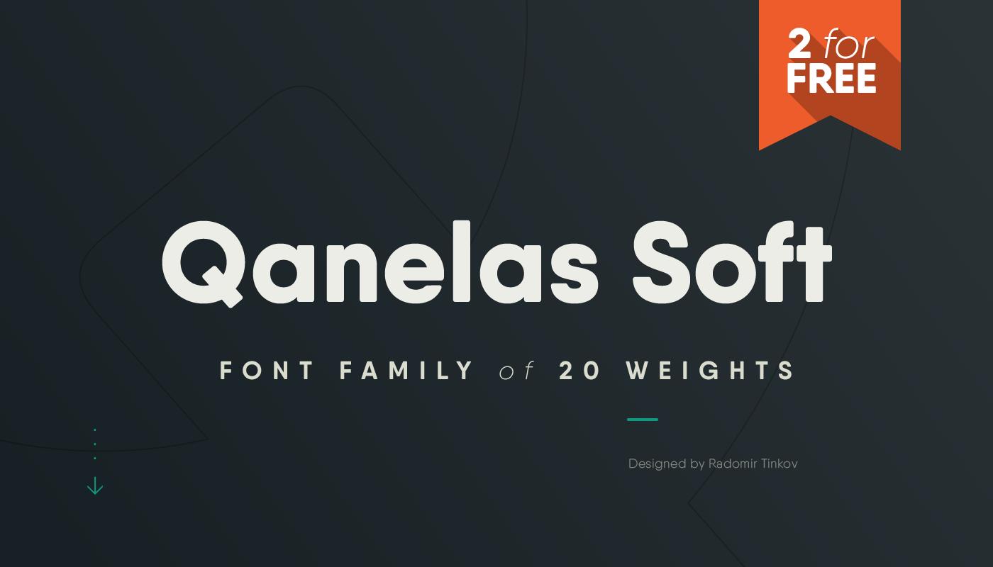 soft Web font Headline sans geometric multilingual Display modern versatile technical Free font