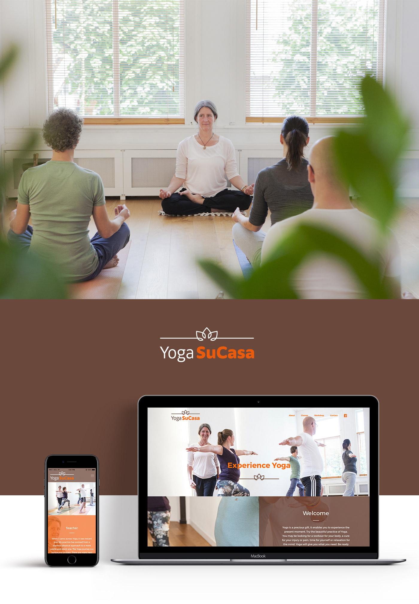 Web Design  UI Interface Logo Design HTML parallax Yoga leiden interactive graphic design