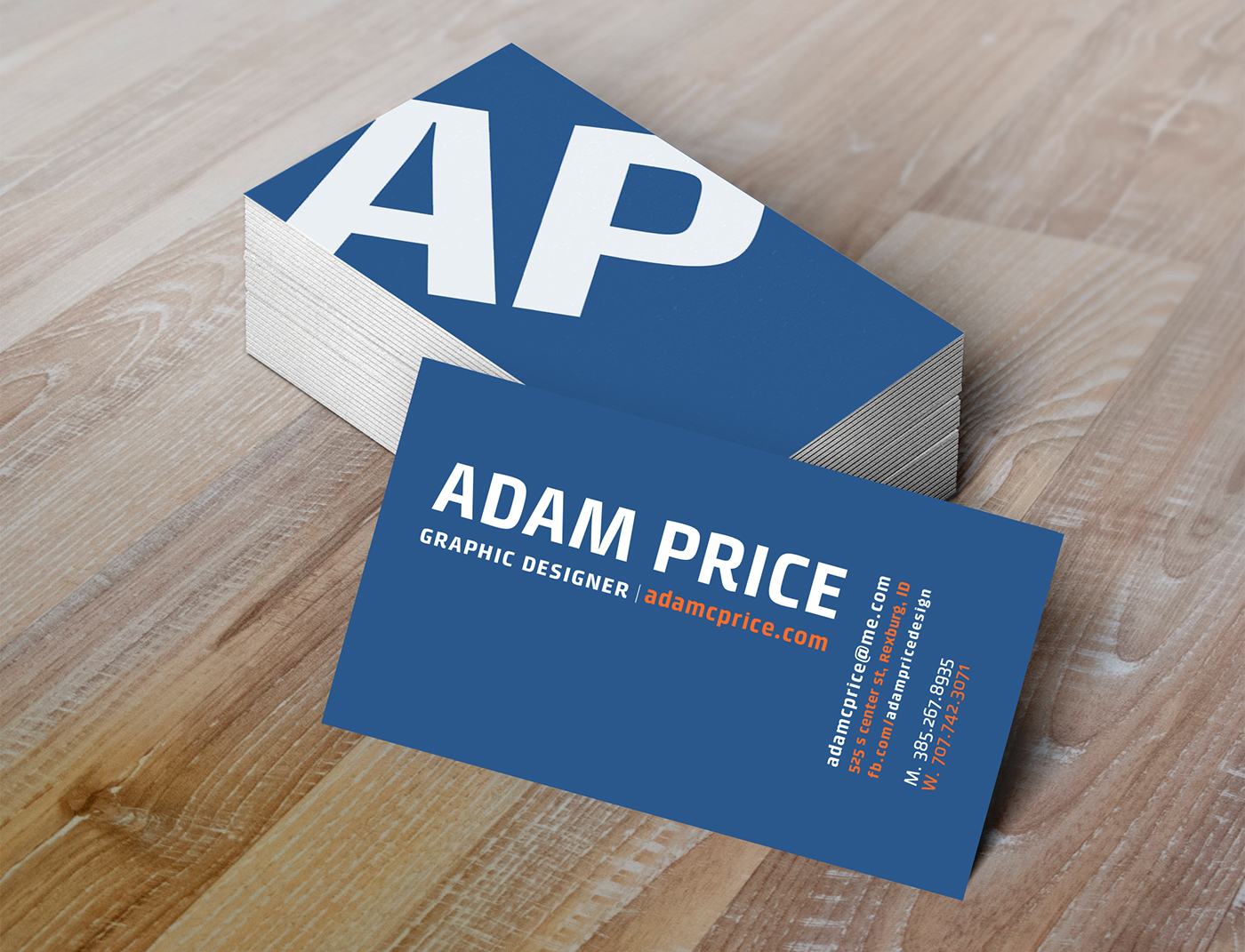 Business Card Project - Art230 (Intro to Typography) on Behance