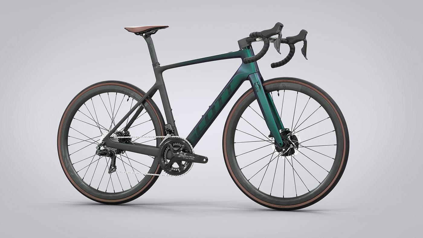 addict Bicycle Bike E-Bike electric electrique road scott VAE velo
