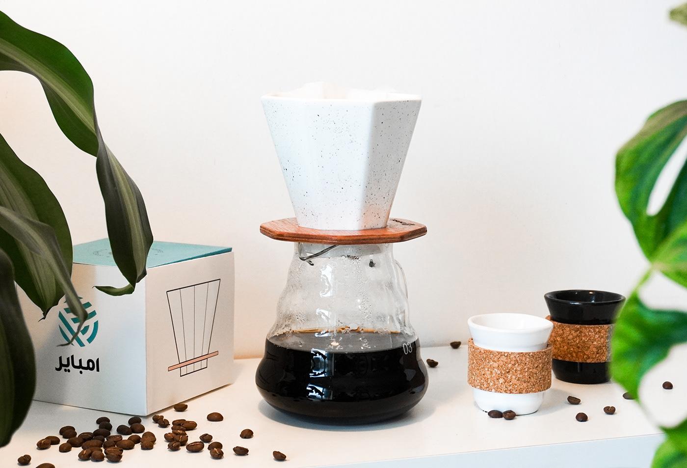 Dripper, coffee, brewing