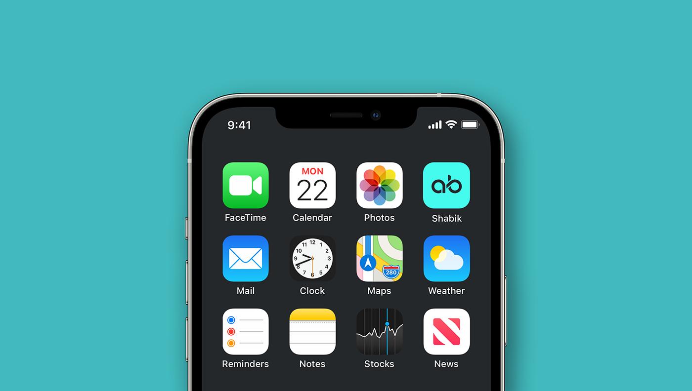 shabik app icon mockup