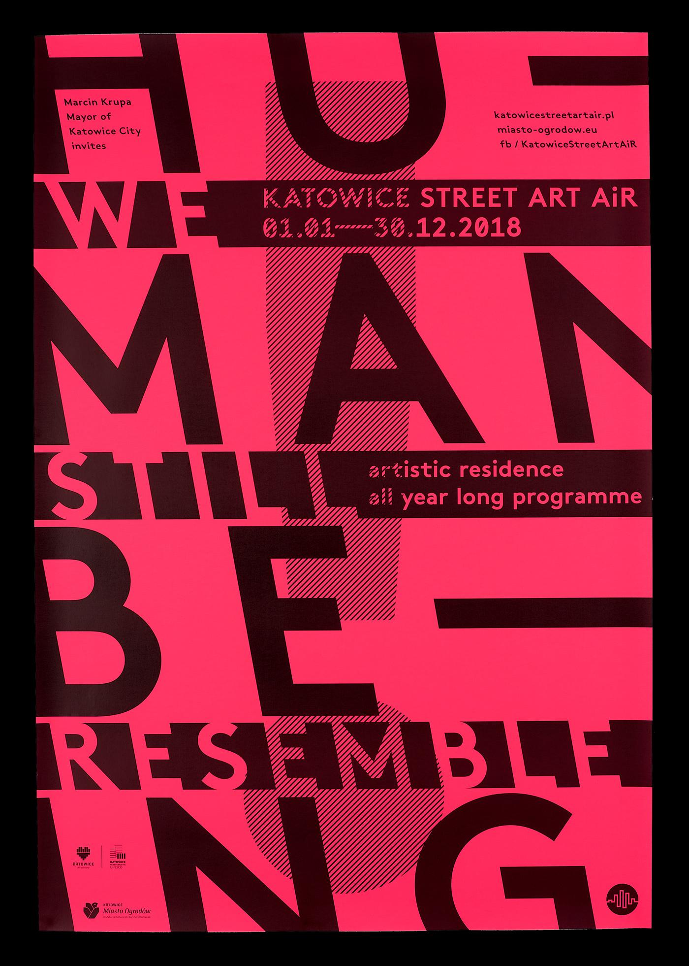 Katowice Street Art AiR 2018 on Behance