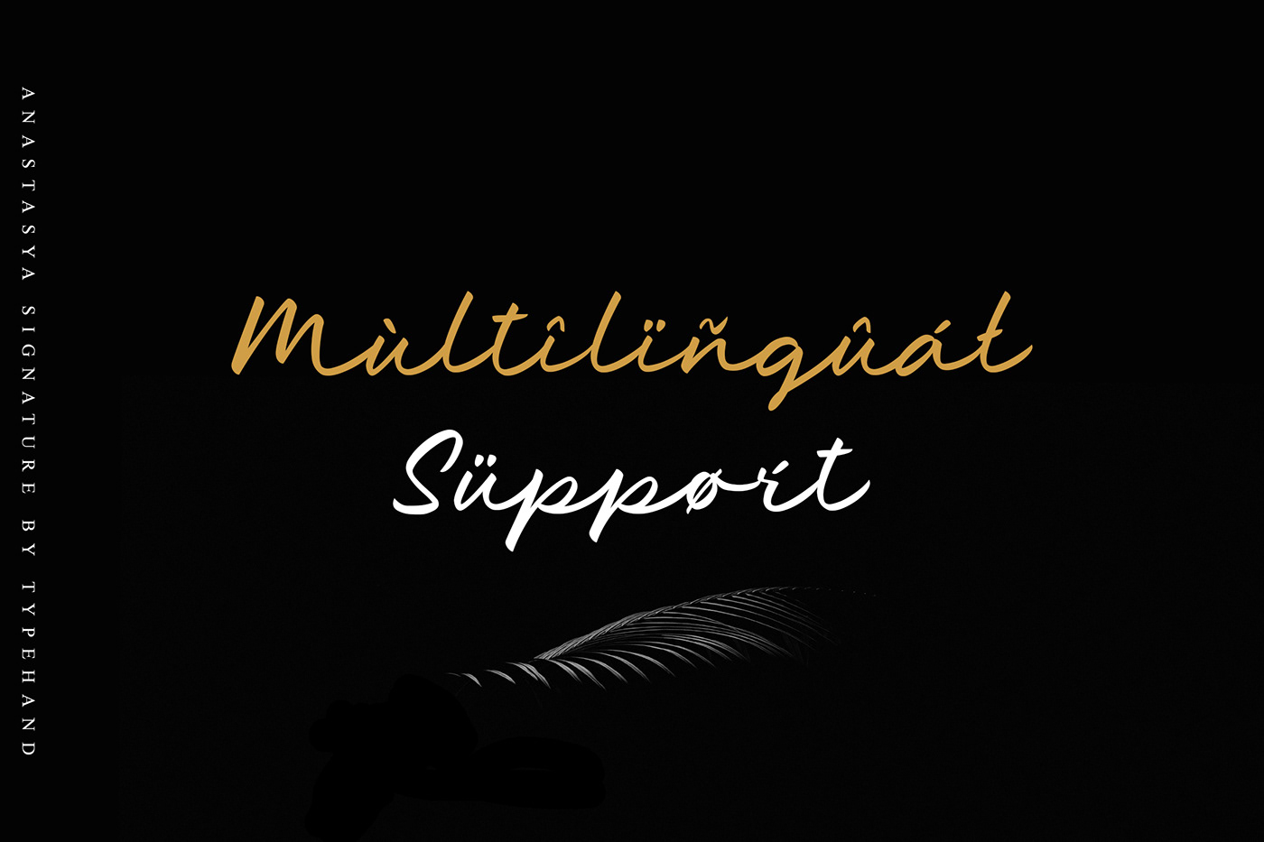branding  design font logo Script signature