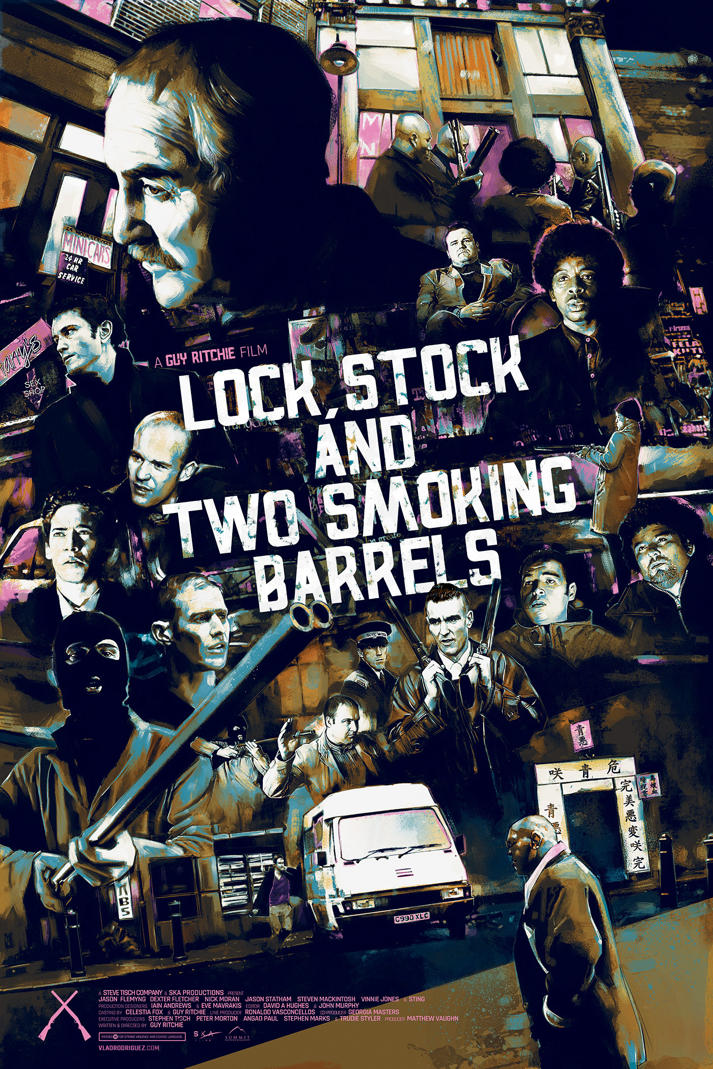 'Snatch' & 'Lock, Stock and Two Smoking Barrels' on Behance