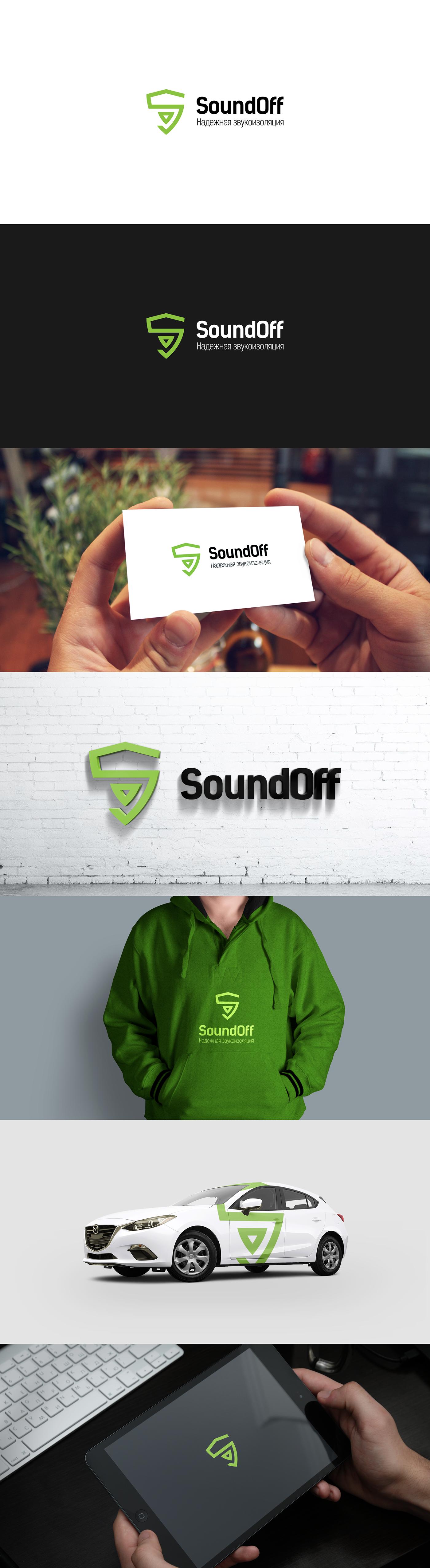 naming sound Logotype logo SoundOff soundguard identity green ecological trust