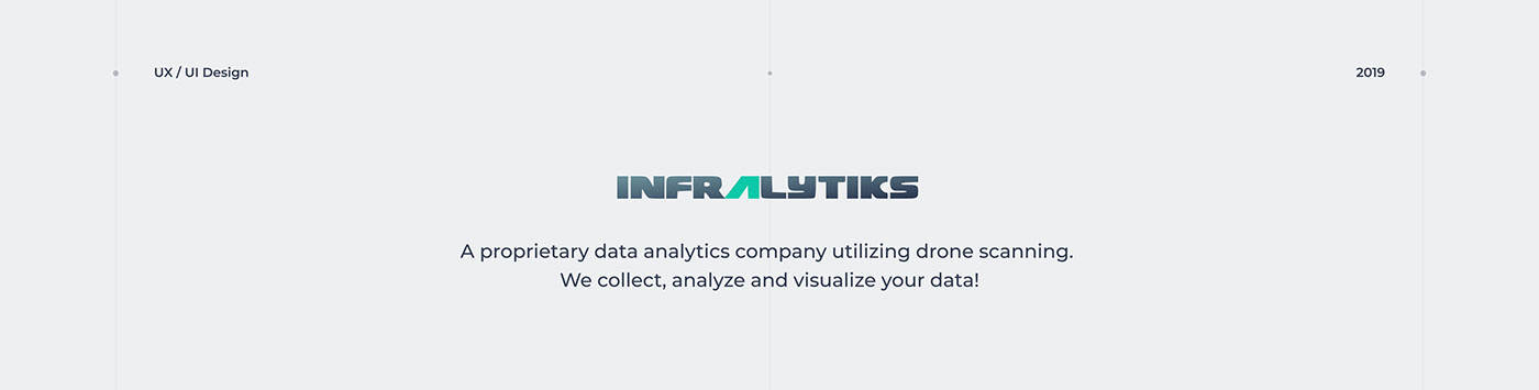 design UI/UX corporate website company drone site presentation services redesign ai