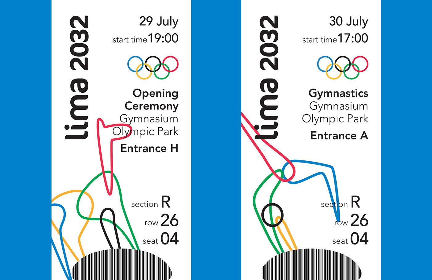 2032 Summer Olympics: Lima, Peru on Behance
