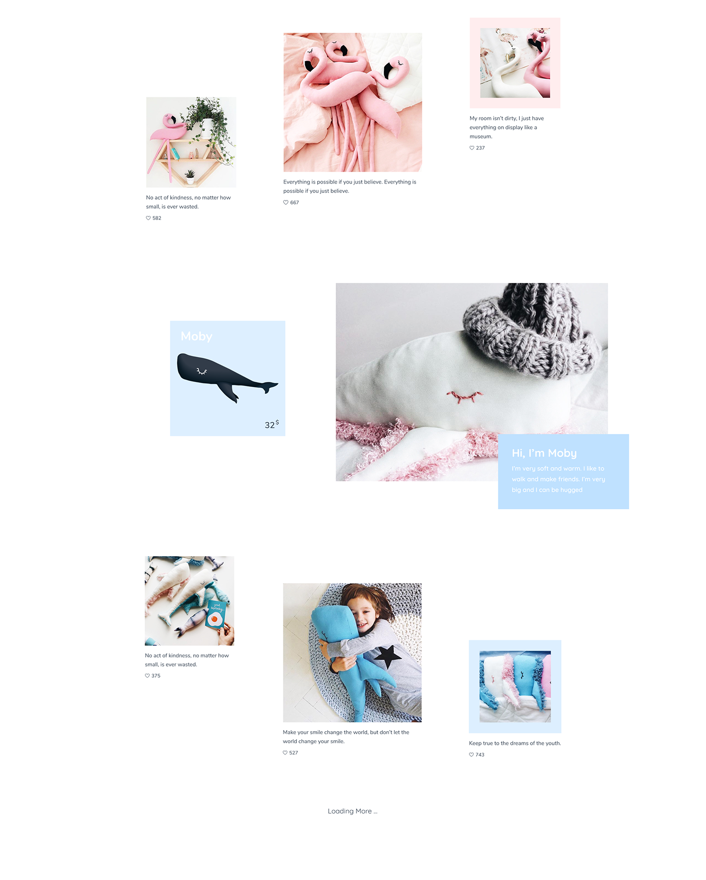 UI ux Web Design  web site Adobe XD Ecommerce animation  Website interaction parallax