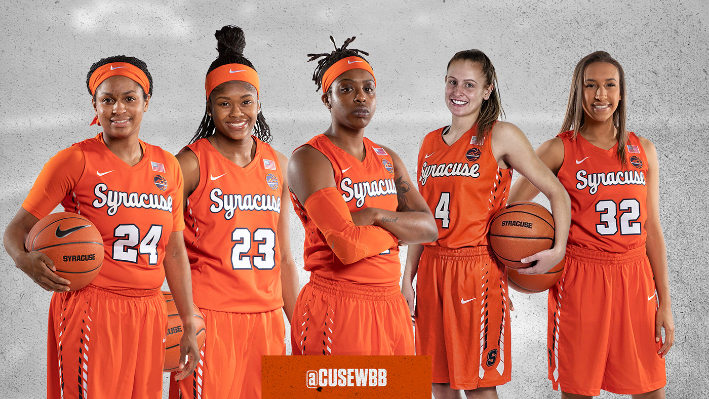 2018 2019 Syracuse Women S Basketball Content Content On Behance