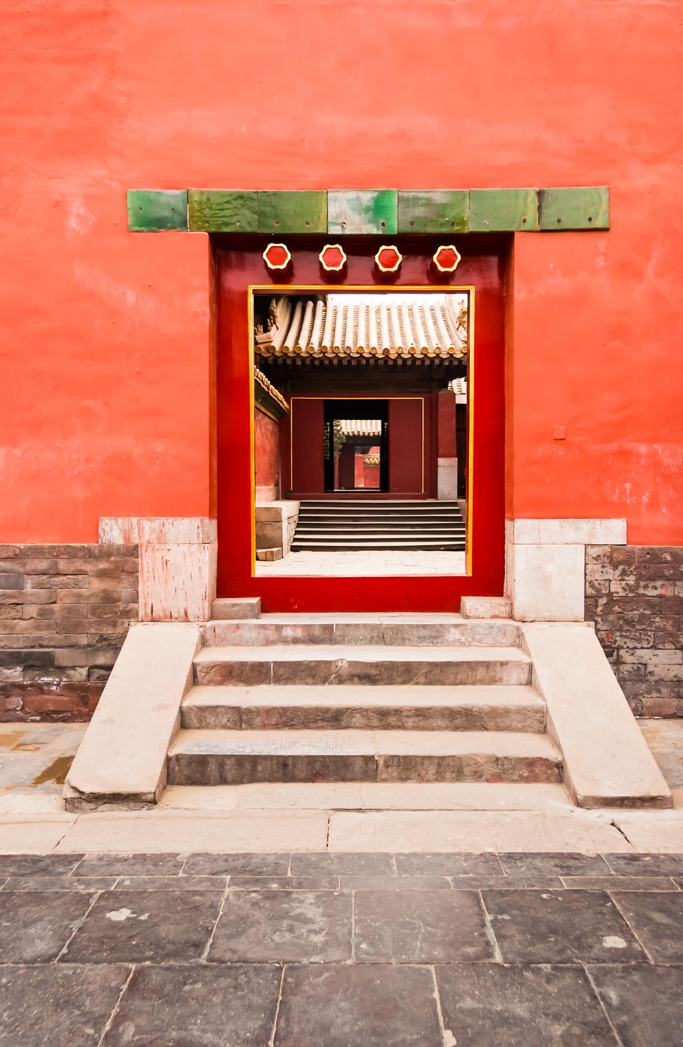 Forbidden City Beijing On Behance