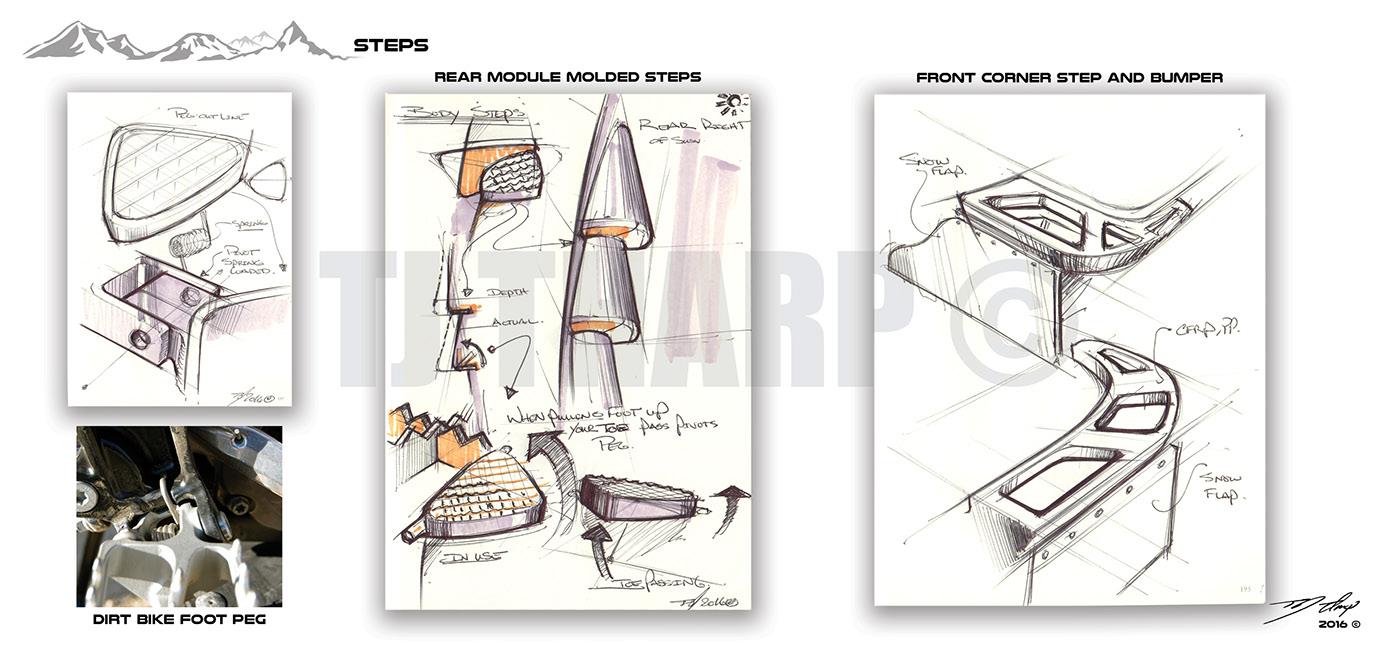 Tardec Mobility On Behance Cartoon Dirt Bike Engine Diagram Thank You