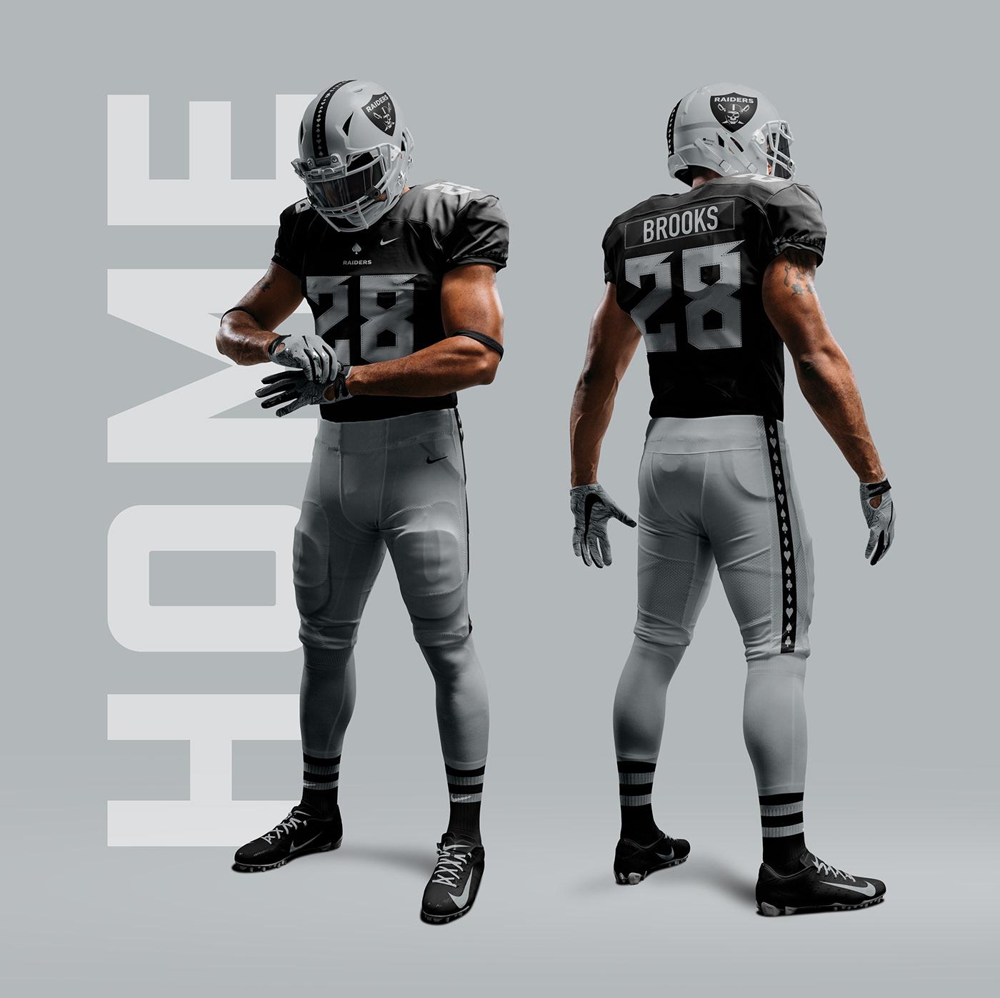 Las Vegas Raiders Rebrand Concept on Behance 32bd2ce0f