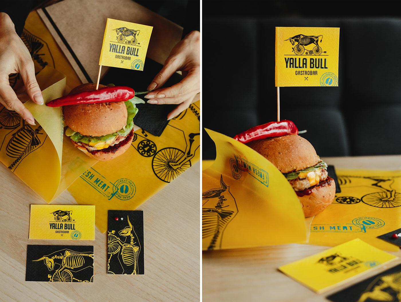 identity logo Restaurant Identity packagingdesign meat identity meat logo best branding burger burger restaurant meat restaurant