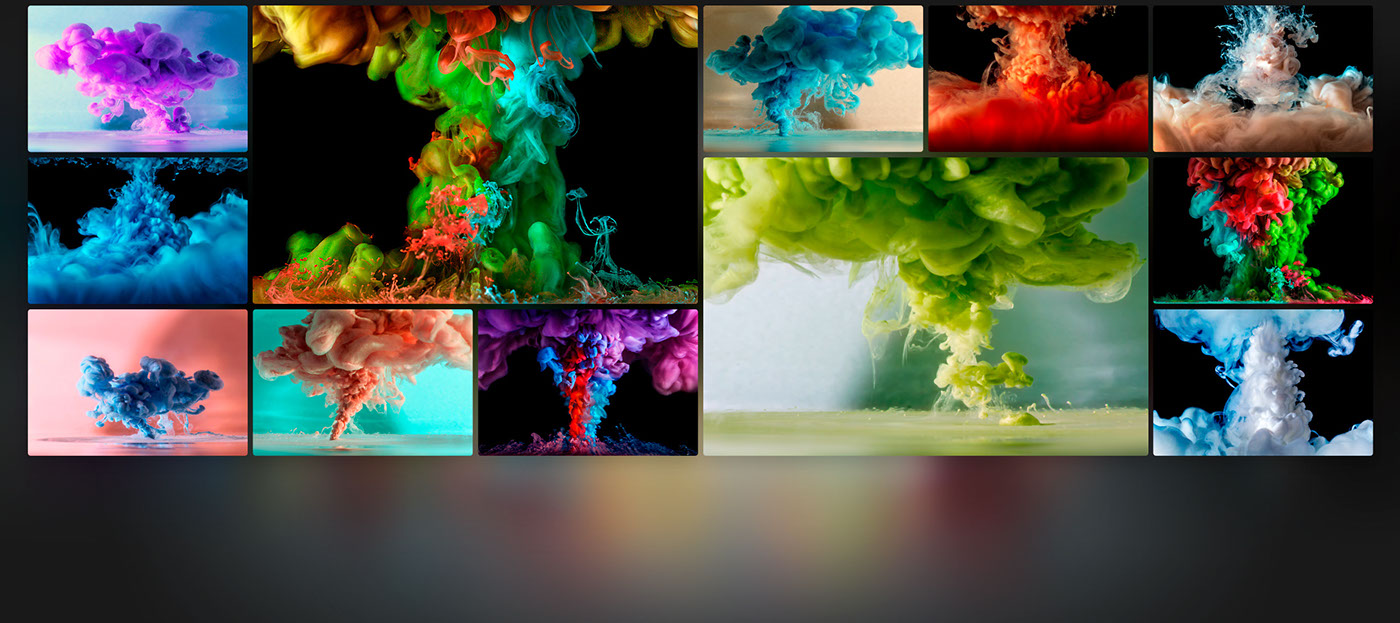 cloudy cloud high speed digital art color ink water acrylic