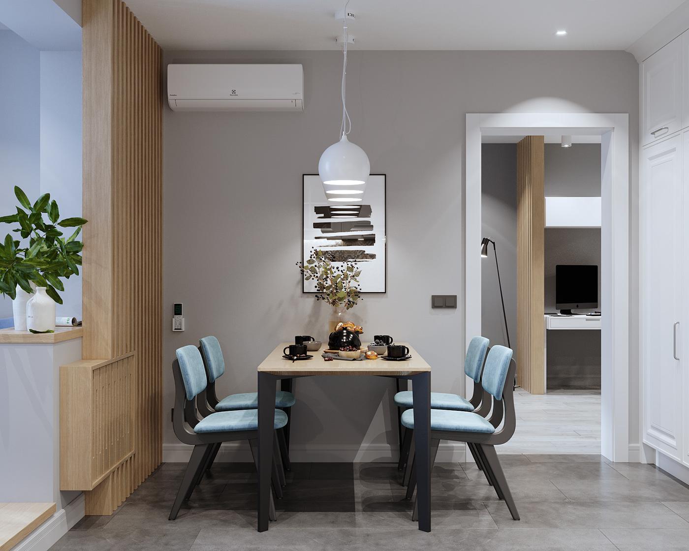 Interior Visualization,corona render ,3D Visualization,kitchen,living room,bedroom,bathroom