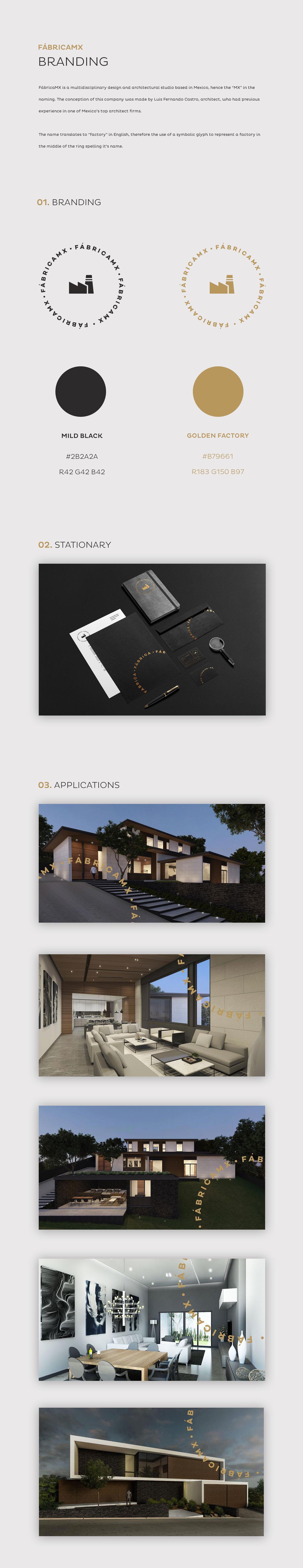 architect architecture branding  sleek logo