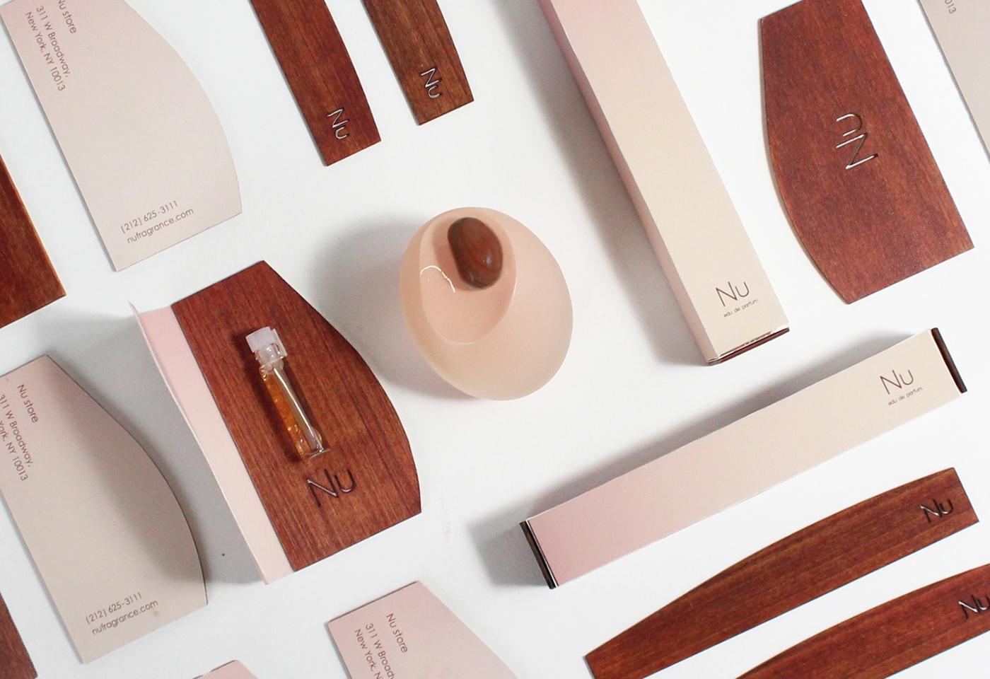 branding  cosmetics Fragrance pafume package design Packaging graphic nu nude