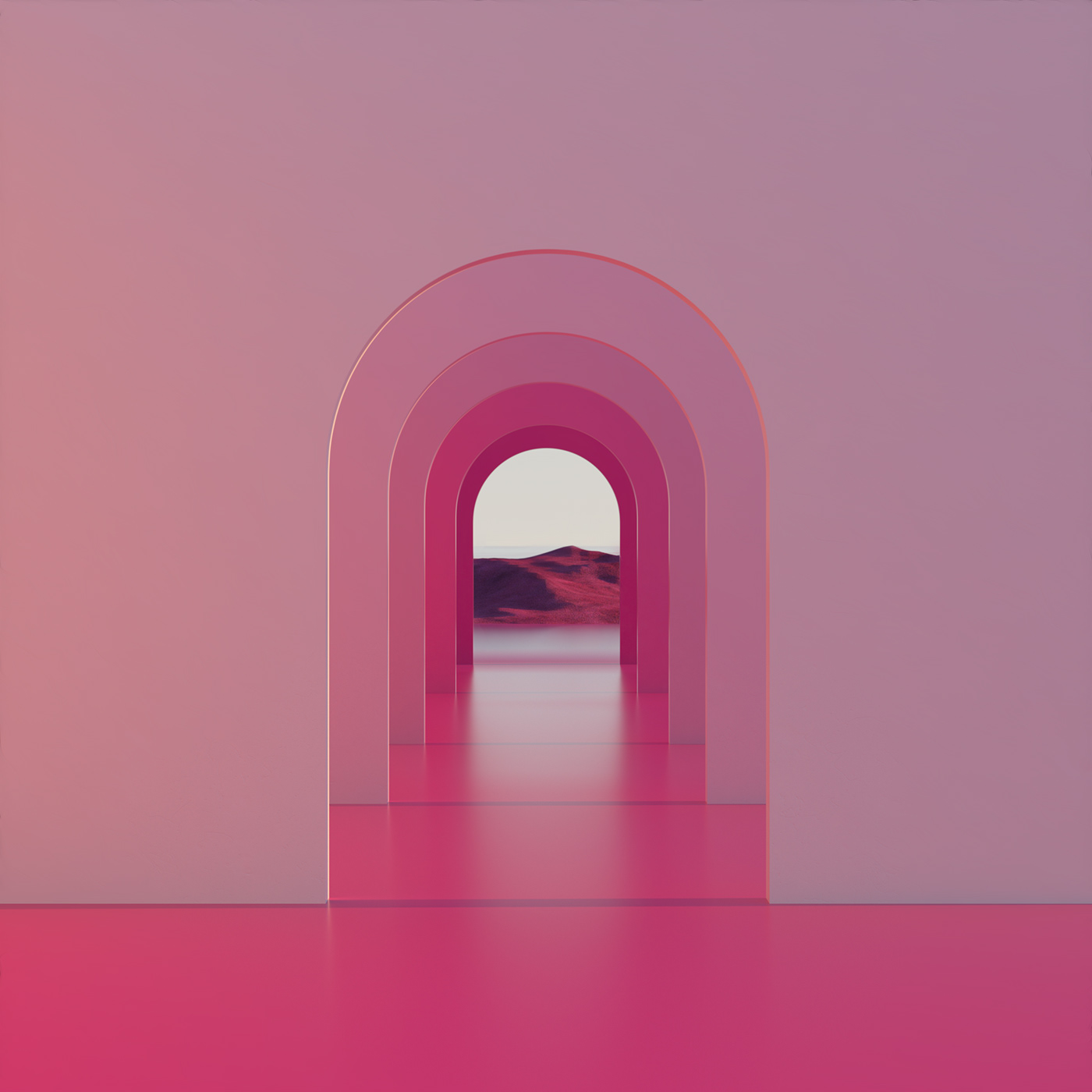3D dreamscapes Isolation landscapes