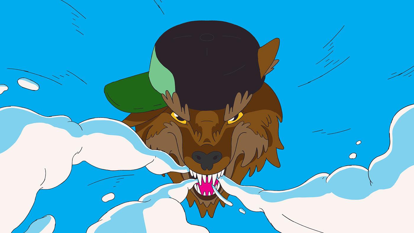 design animation  Creative Direction  cartoon cartoon network anniversary oddfellows cel traditional animation