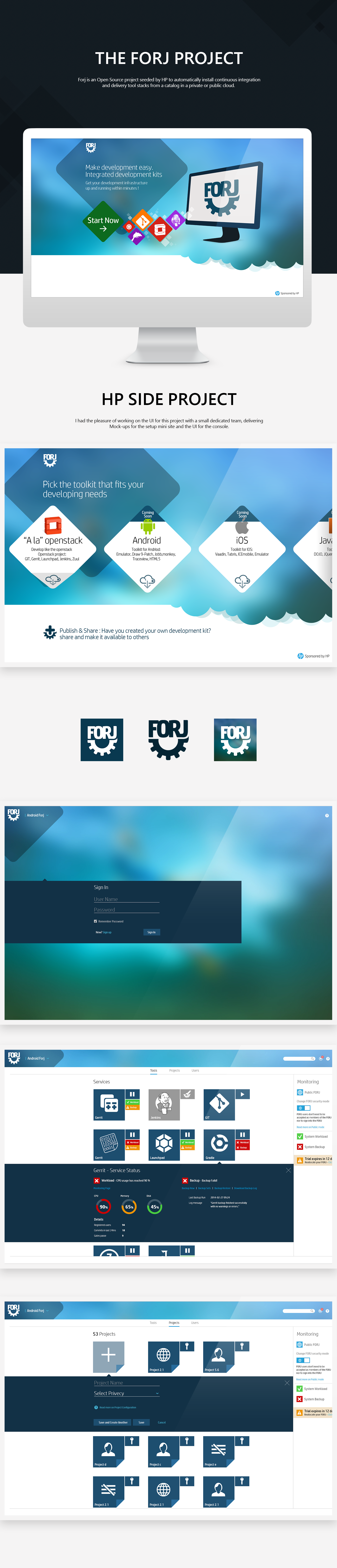 design UI software Web cloud