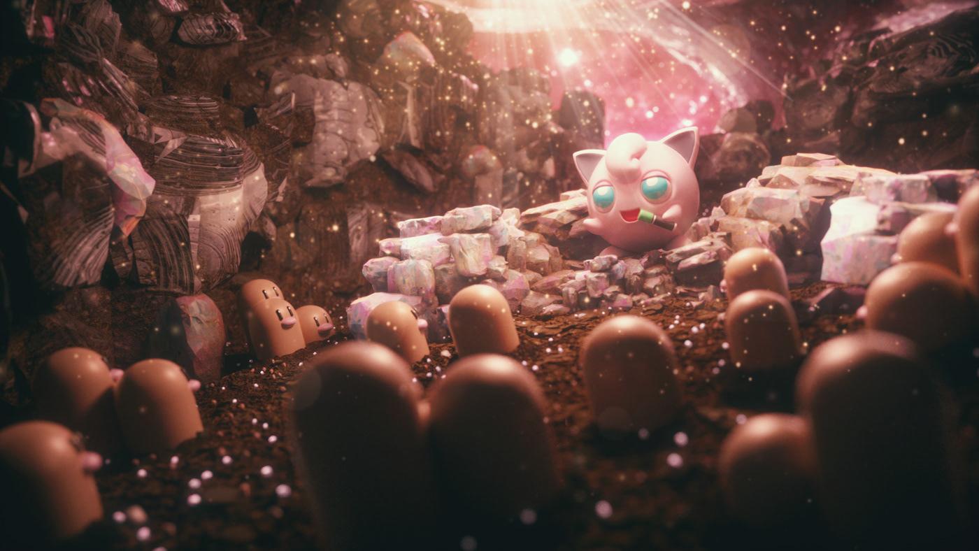 3D Artwor c4d characters cinema4d cute illust motion photoshop Pokemon