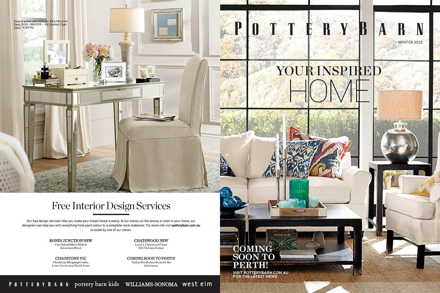 Pottery Barn International On Behance