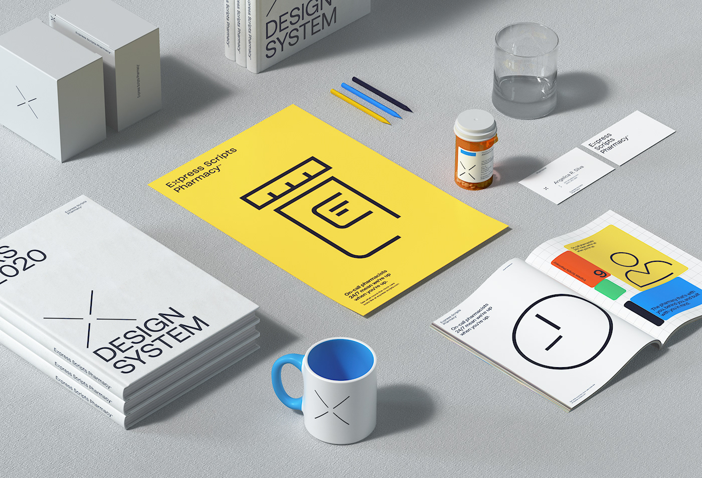 Brand Systems branding  motion pharmacy Photography  user interface verbal design 3D graphic design  product