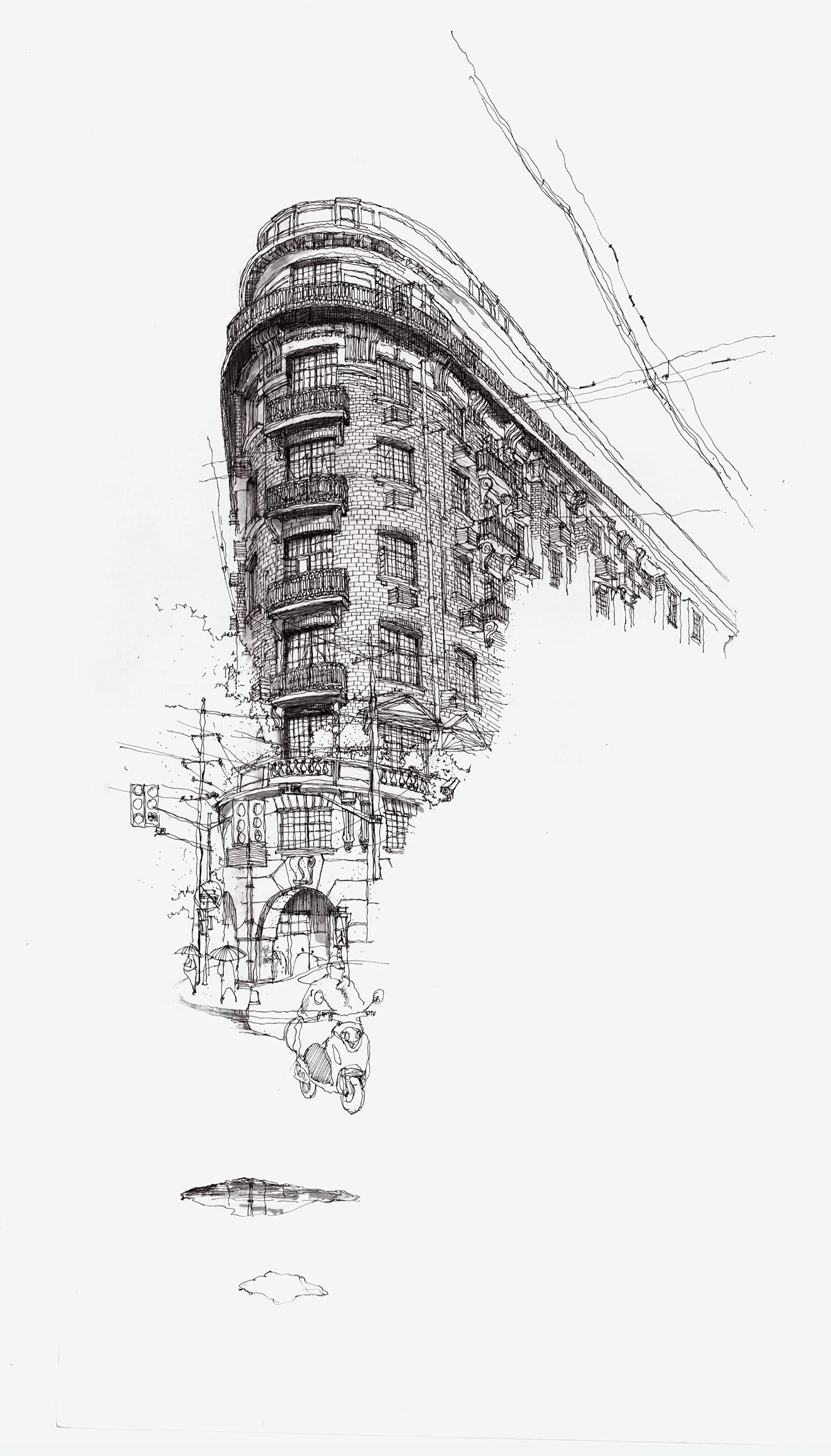 高質量的30張建築系作品集欣賞