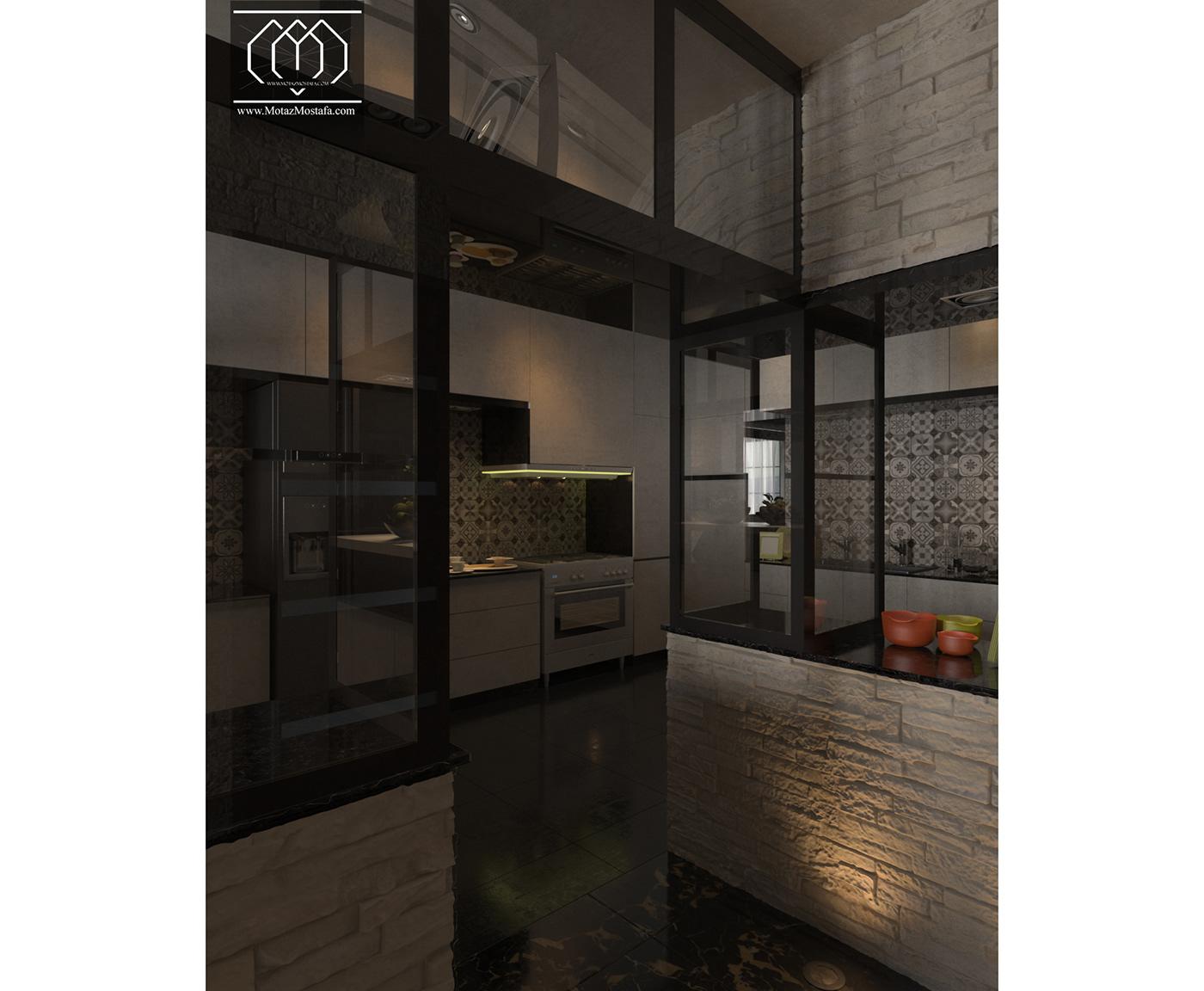 Arhictecure 3dsmax vray photoshop Interior design visualization graphics modern Motaz mostafa