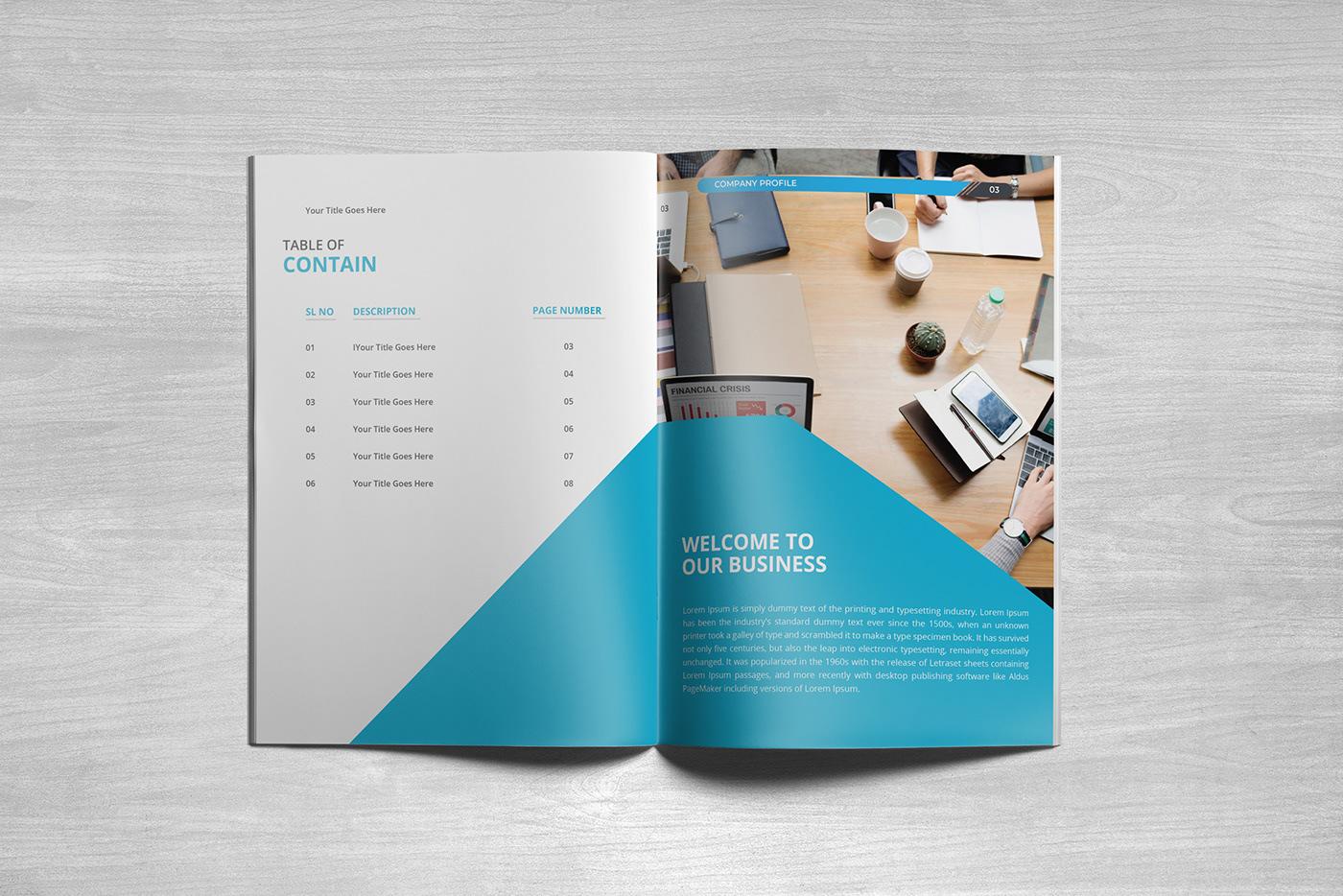 company profile business profile brochure business brochure business Company Brochure business brochure design Company profile design brochure design Business Design