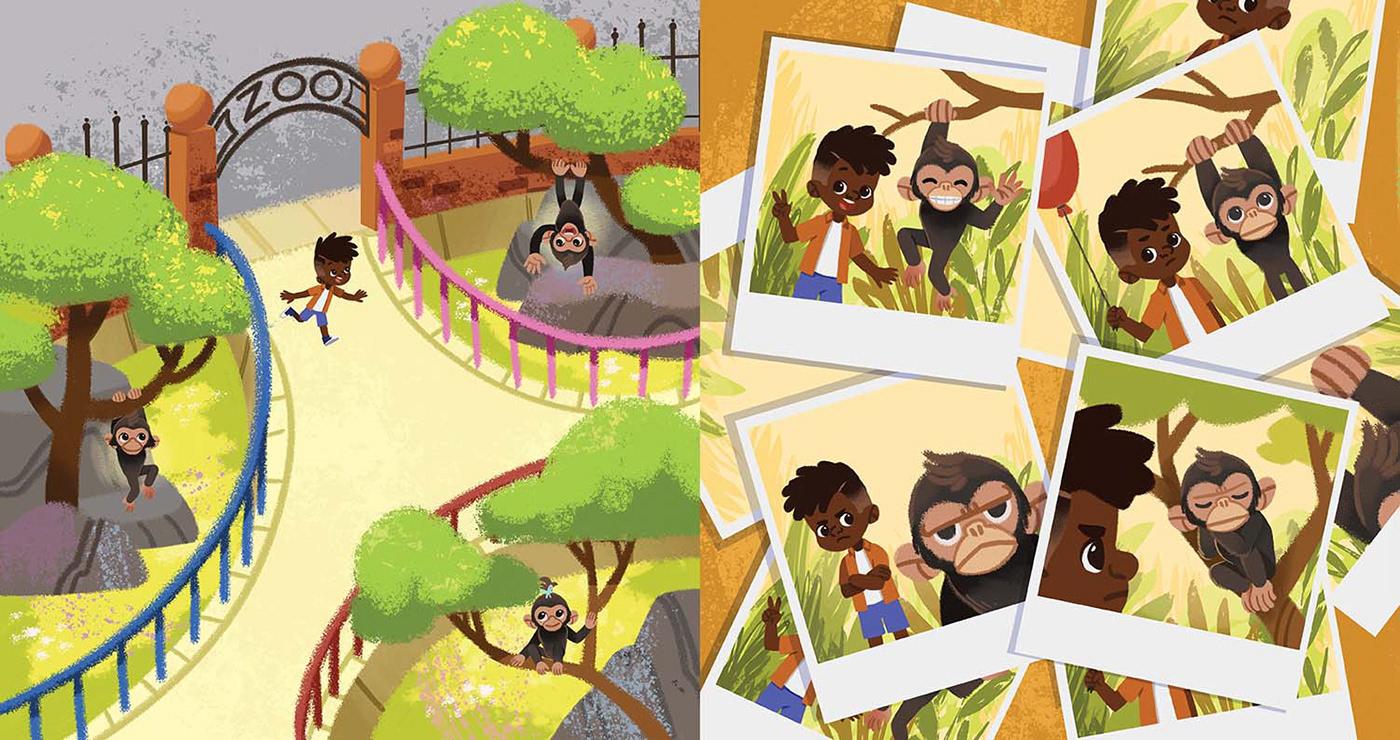 book children children illustration children's book ice cream ILLUSTRATION  Picture Picture book