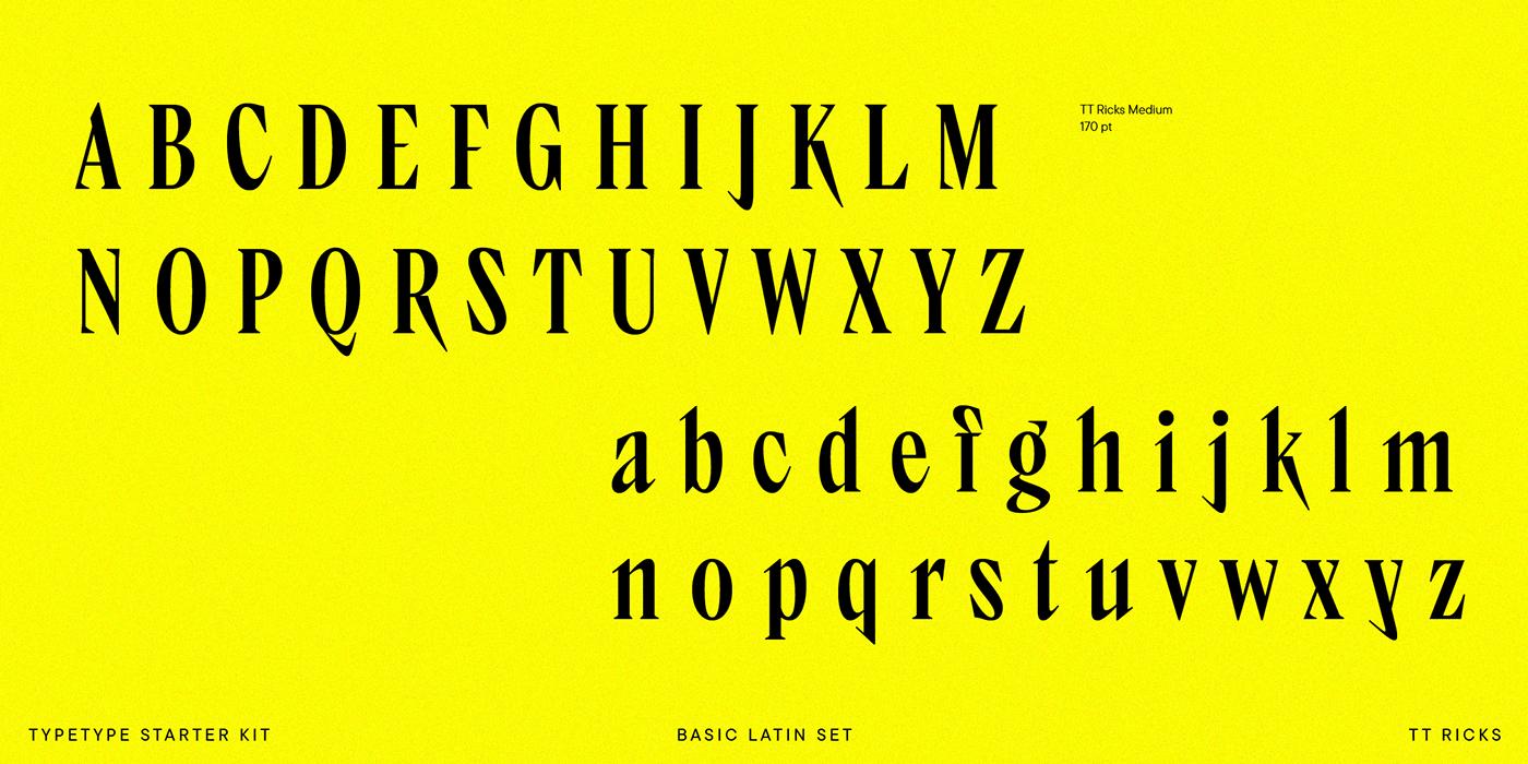 display font Experimental font funky informal type serif started kit font type design Variable Font Variable type web font
