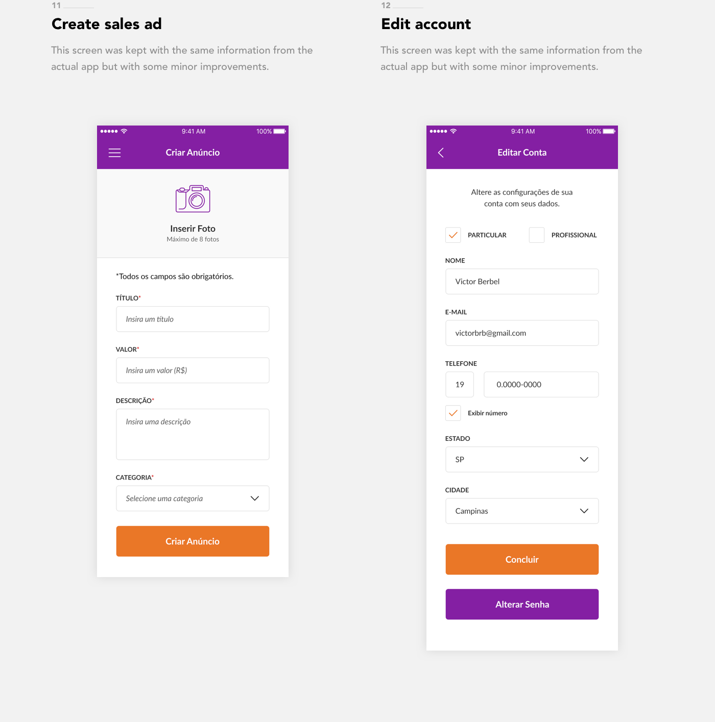 redesign UI ux olx app icons colors design art