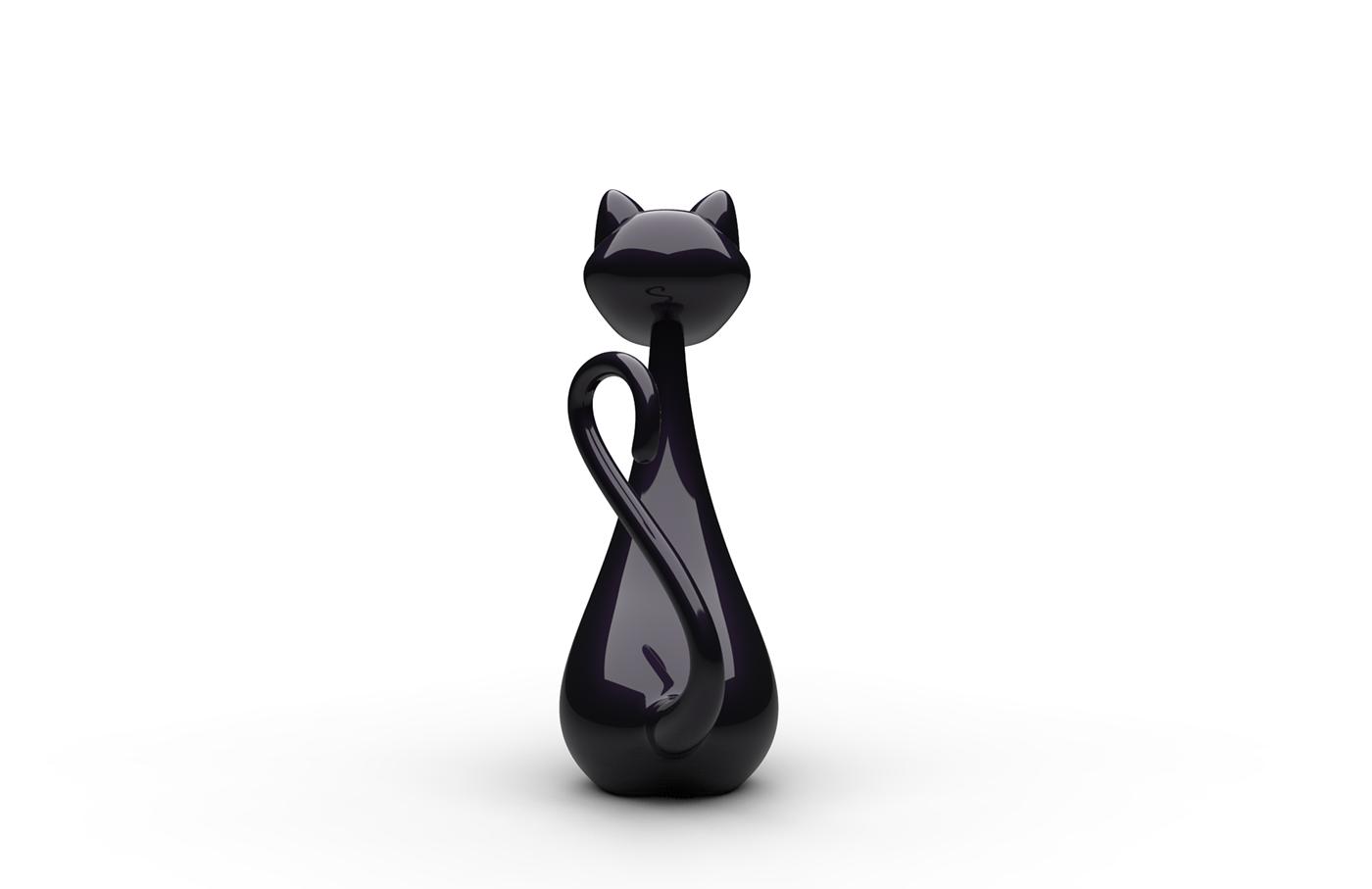 Cat 3D 3dmodeling Accessory Alias keyshot