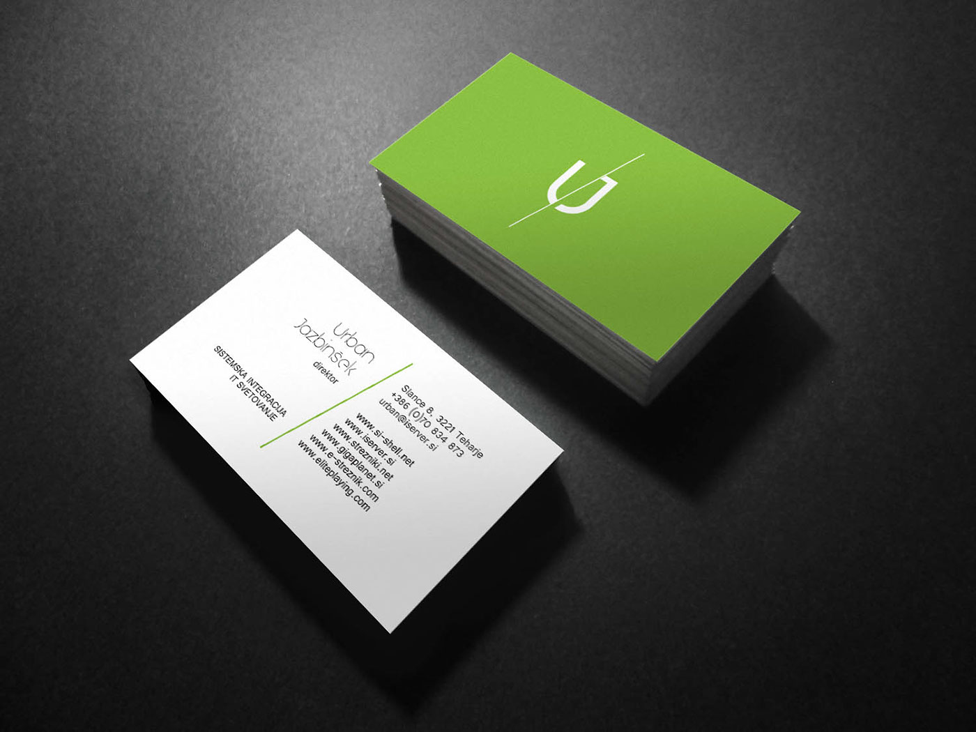Multiple brand/Personal business card + Logo on Behance