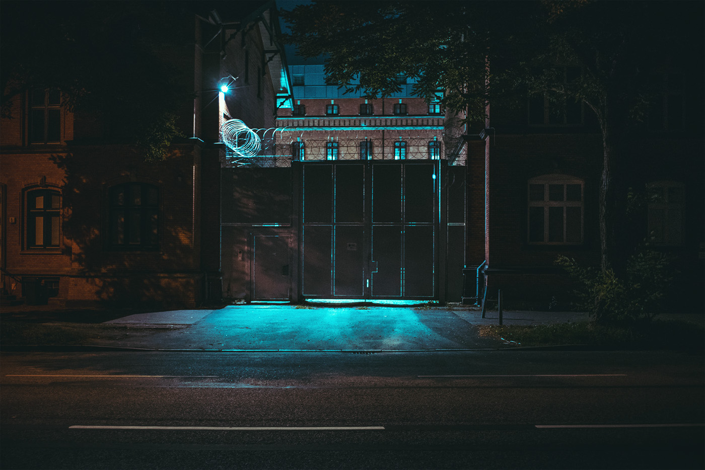 lowlight night hamburg