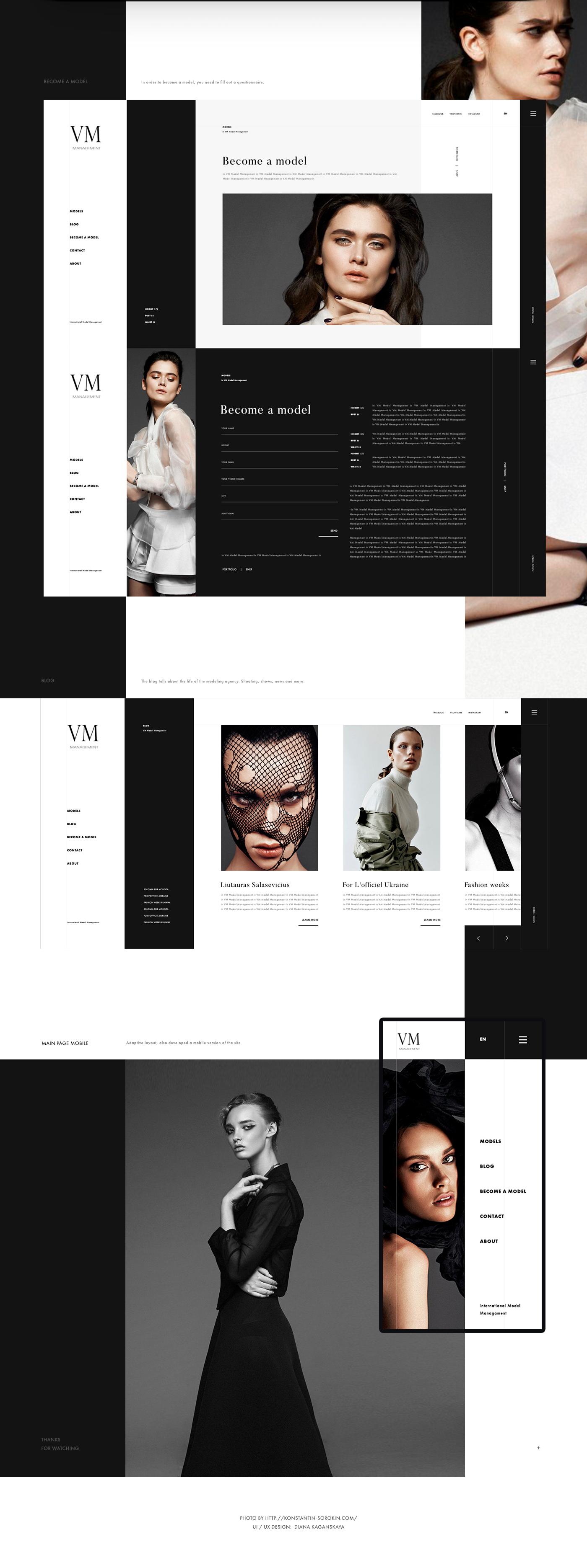 UI ux интерфейс внушать веб-сайт Webdesign Web мобильный цифровой clean
