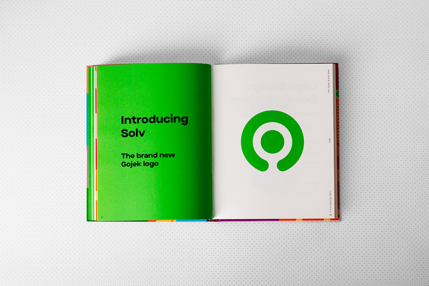 art book book book design design at gojek editorial gojek graphic design  printisnotdead Rebrand
