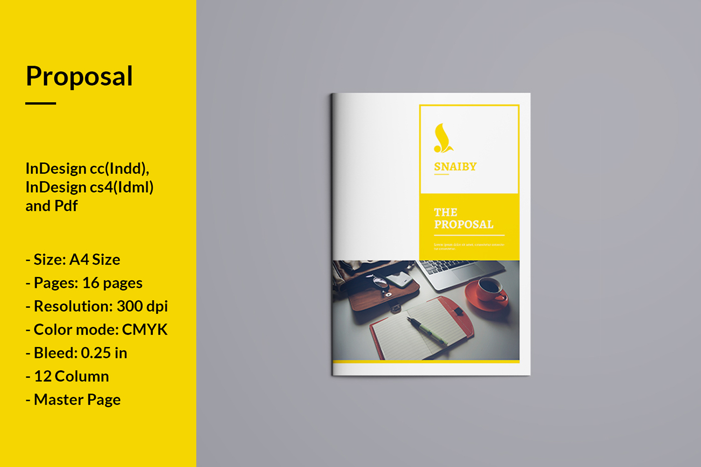 Business Proposal On Behance