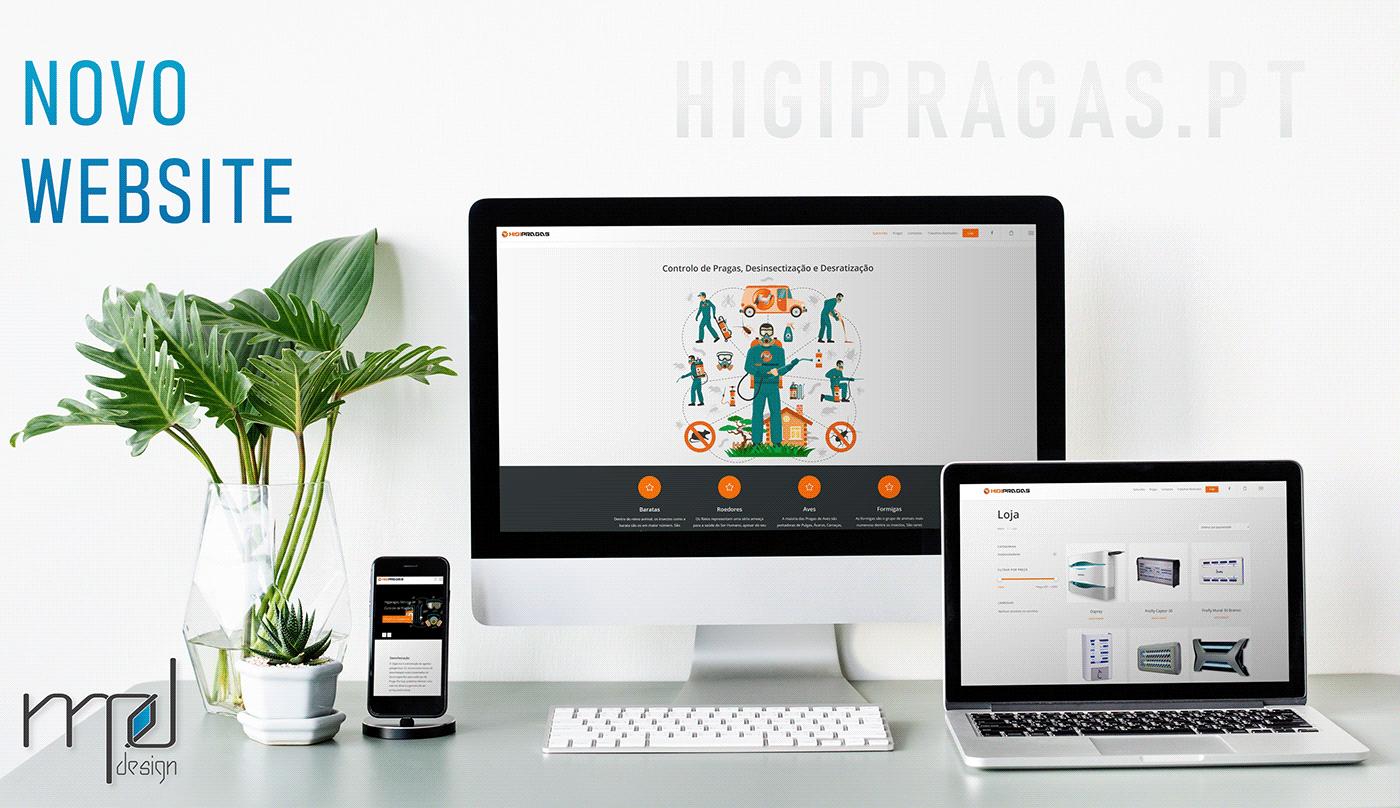 design Logotipo Portugal Website