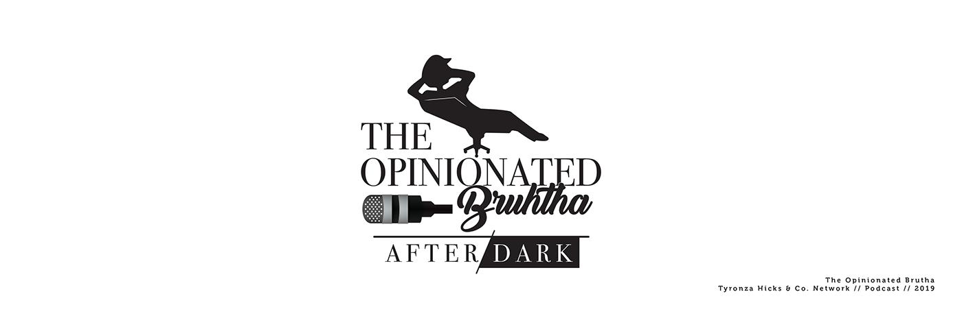 The opinionated broth logo design