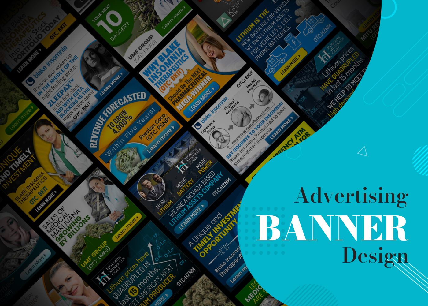 Advertising  Animated Banner banner campaign banner design Google adword marketing
