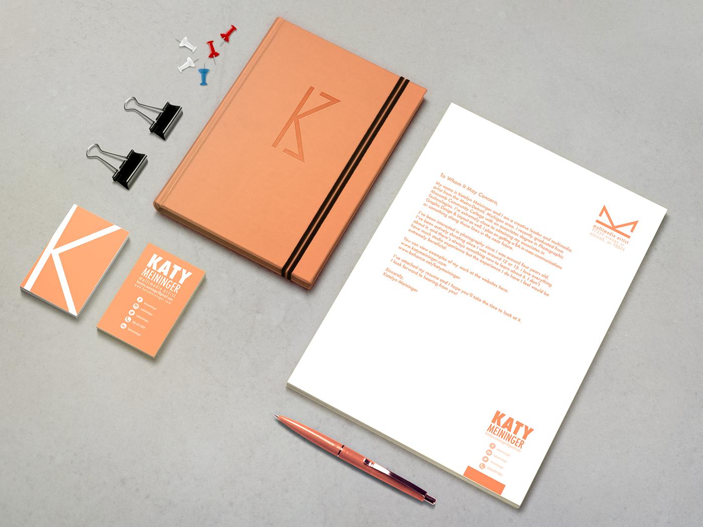 Personal Branding - Katy Meininger on Behance