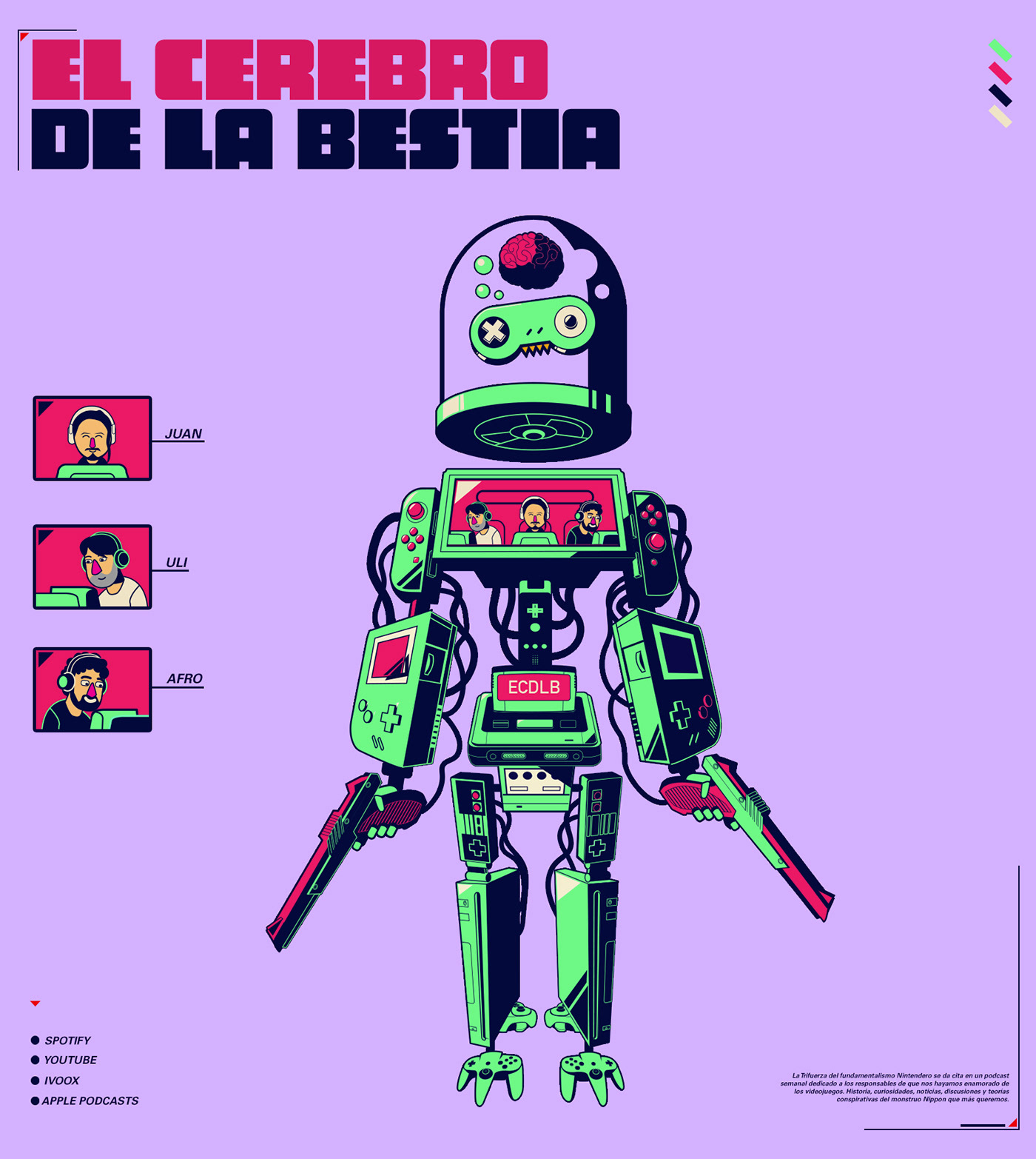 ILLUSTRATION  japan Mechas Podcasts robots sci-fi