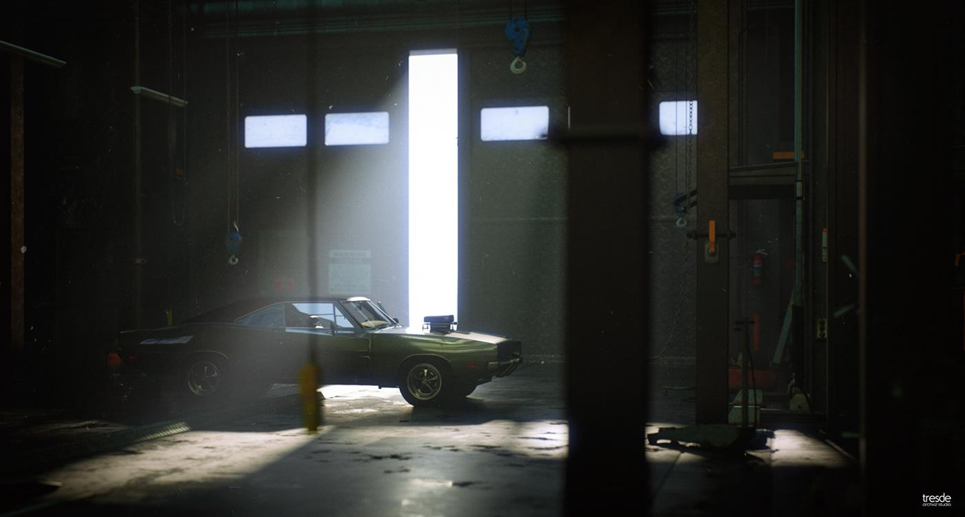 car cinematic cinematography filmic mood