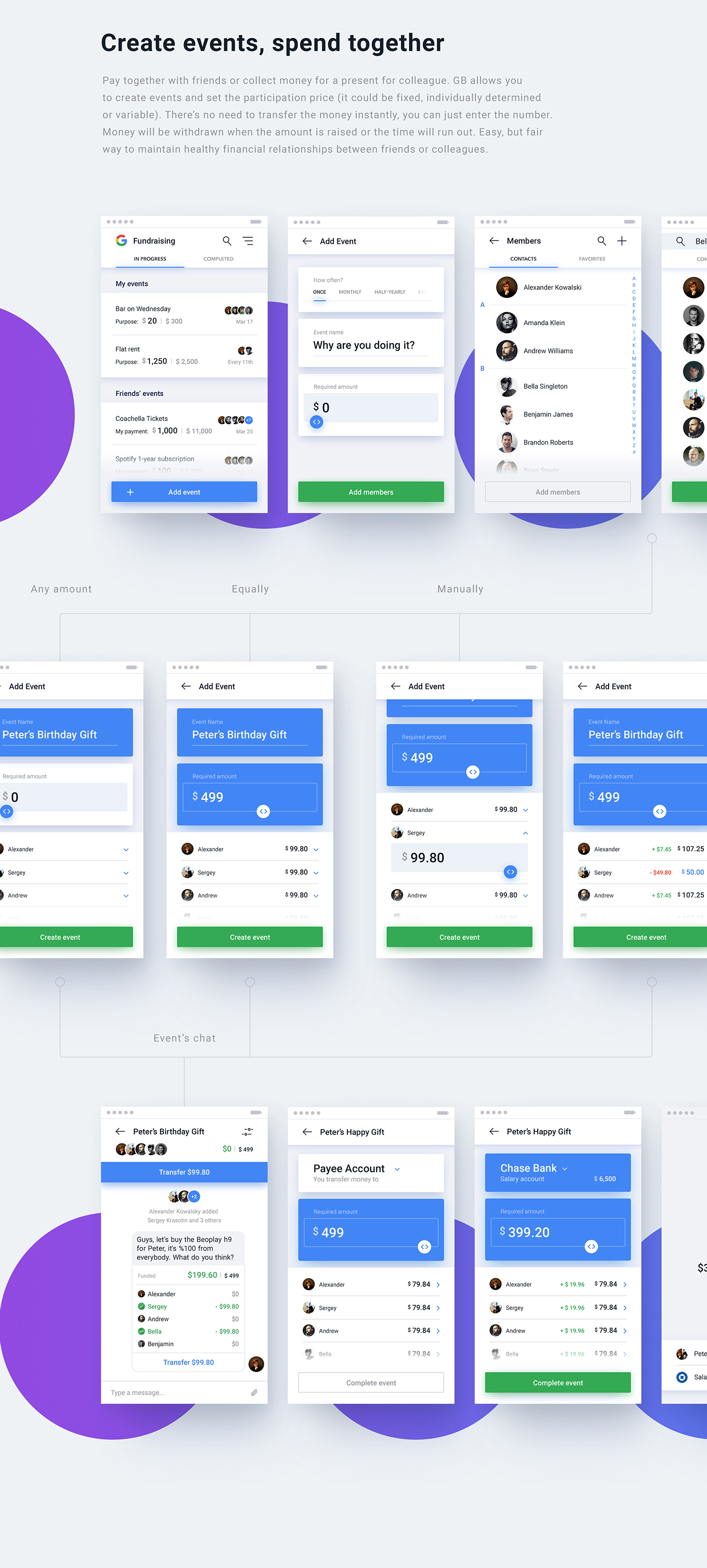 Interface Bank interaction White UI ux animation  ios application mobile