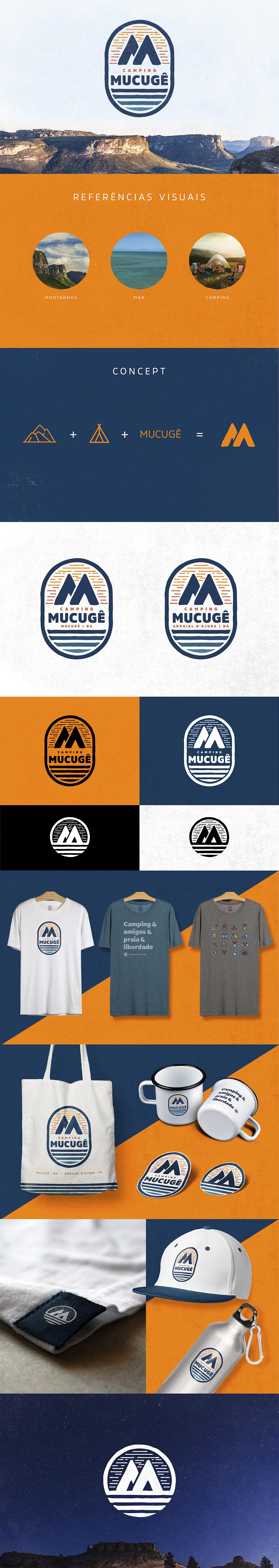 branding  camping camping bahia identidade visual camping logo logo camping marca